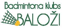 Badmintona klubs Baloži Logo
